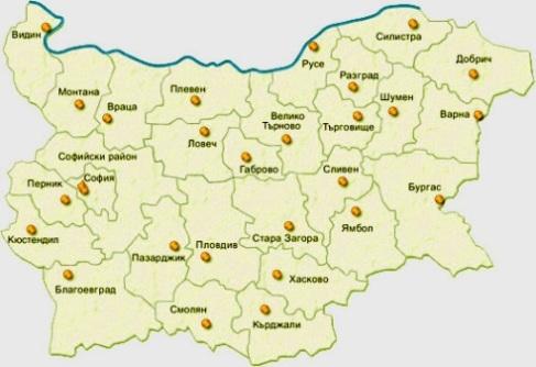Gradovete V Blgariya